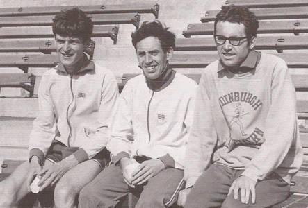 Fergus Murray, Jim Alder, Don Macgregor, marathon