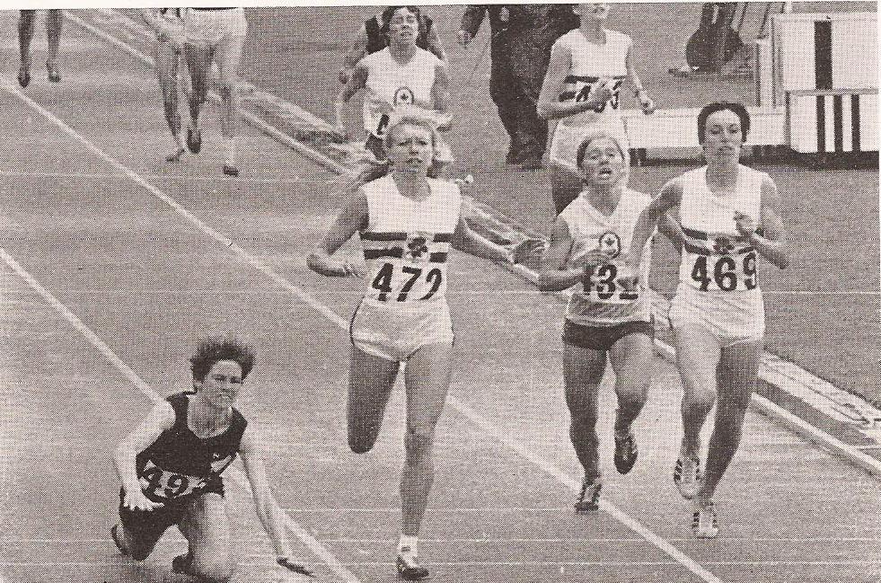 1970 women's 1500
