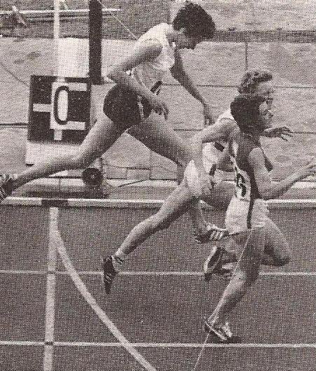 1970 women's 800m