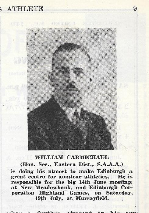 Willie Carmichael, 1947