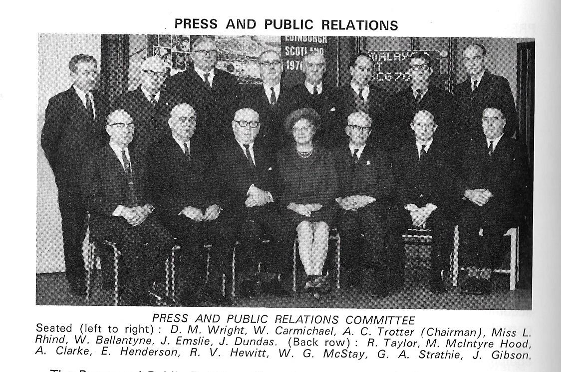Press And Public RelationsCommittee