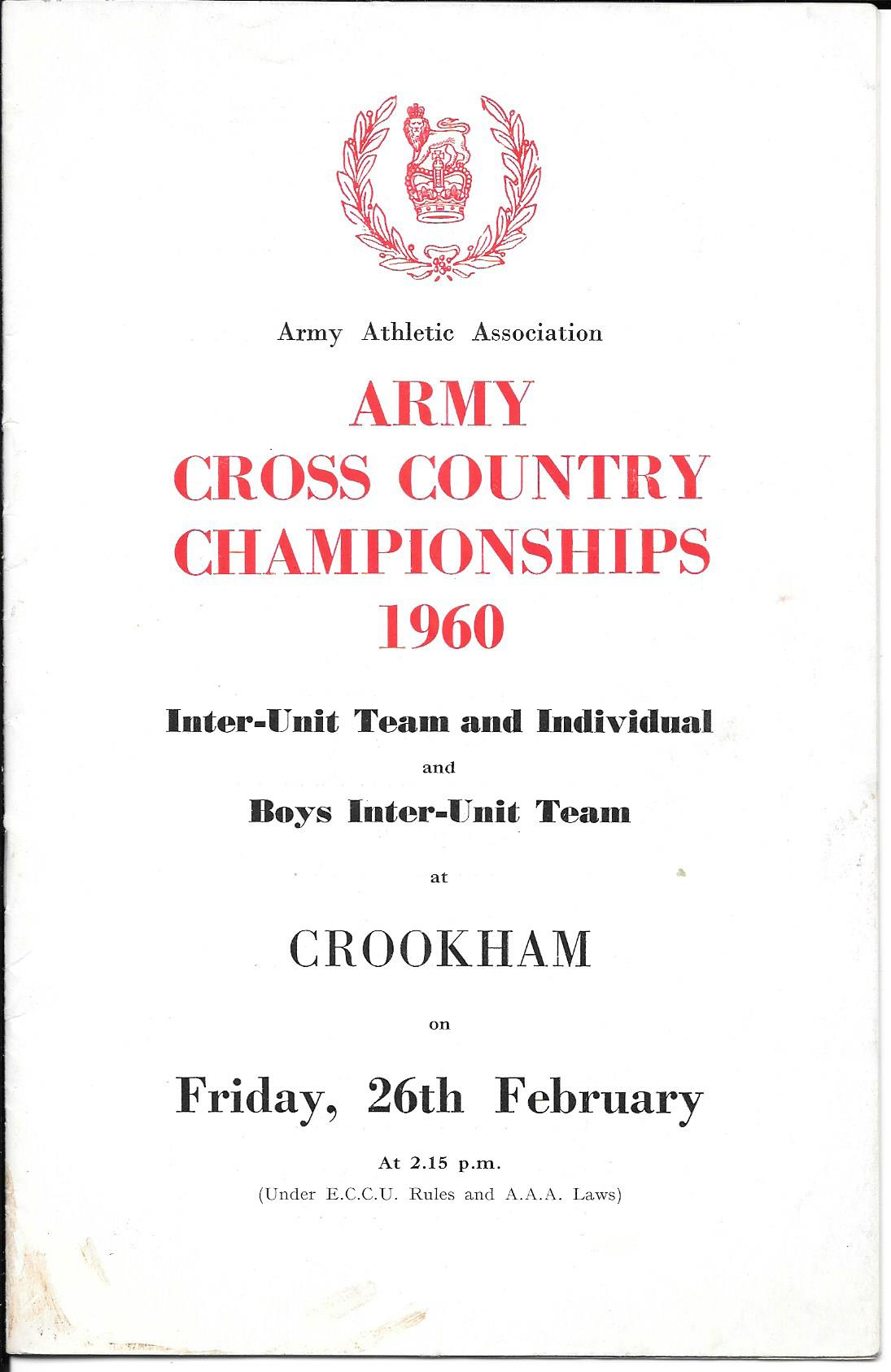 Army programme cover