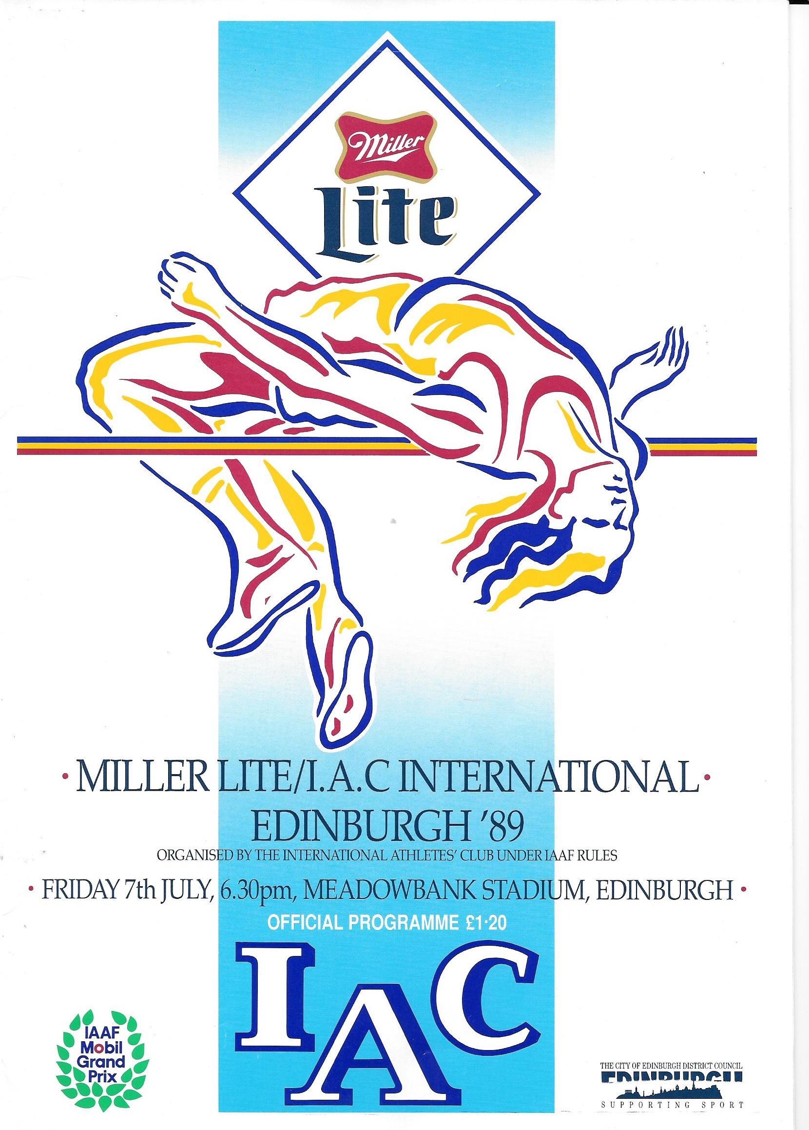 Miller Lite, Meadowbank