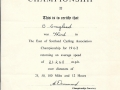 East of Scotland Cycling Association Championships 1963