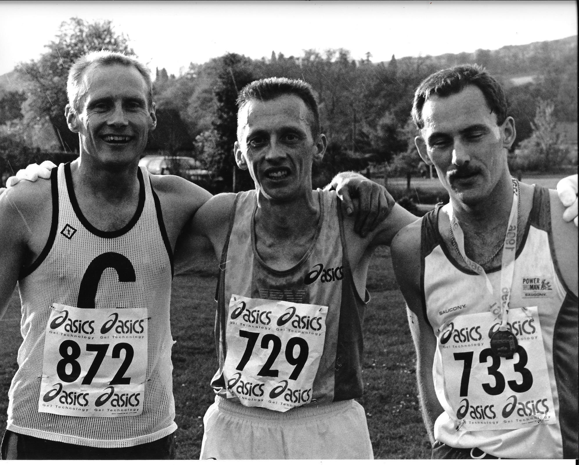 I Murphy, T Murray, G Croll, Polaroid Hel 96