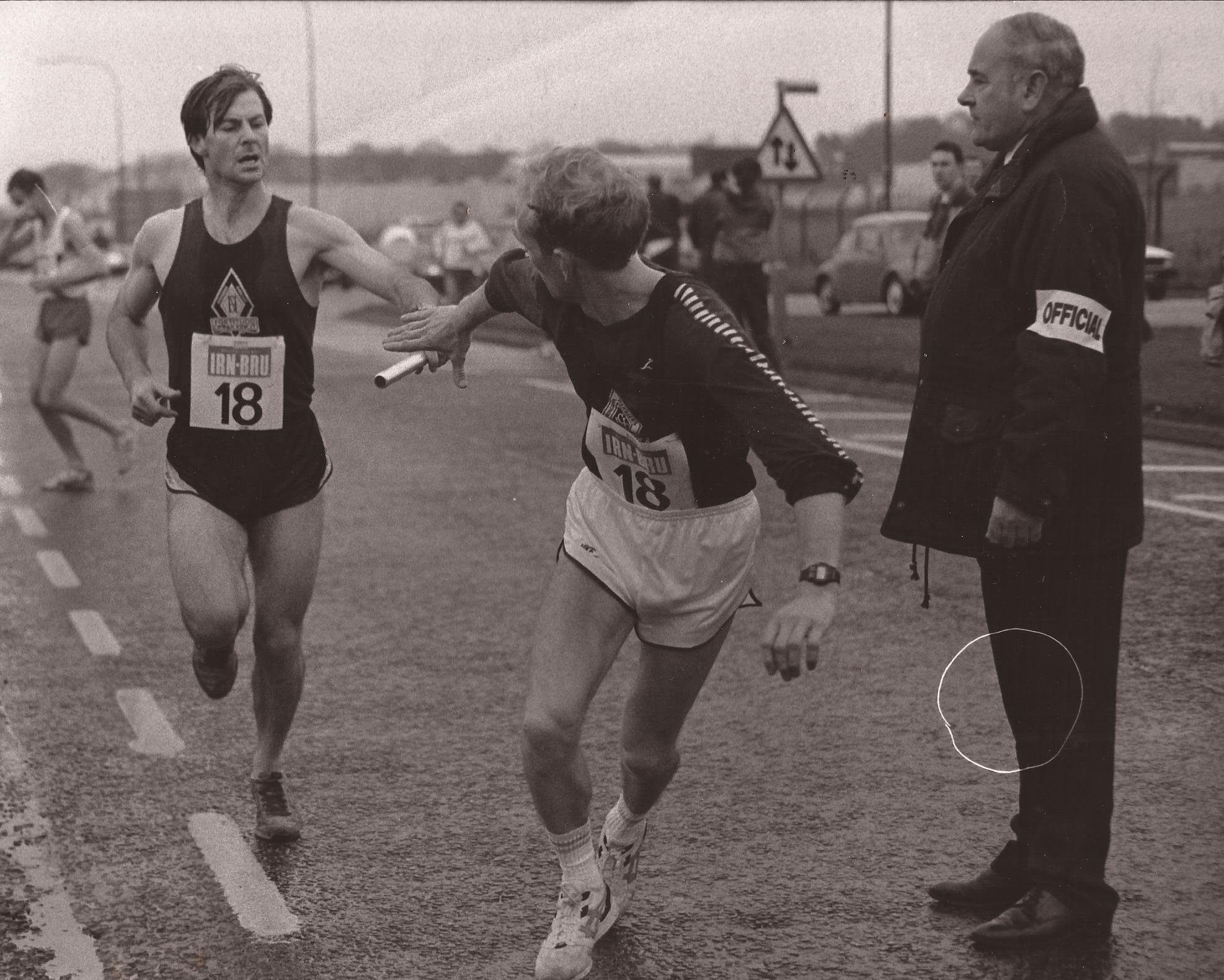 Officiating, Springburn changeover, E-G 1992