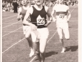 Danny running in the Babcock's half mile in 1958