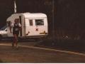 Danny running in the Lochaber Marathon