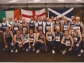 Danny with the Scottish Vets team in Ballymena 1995
