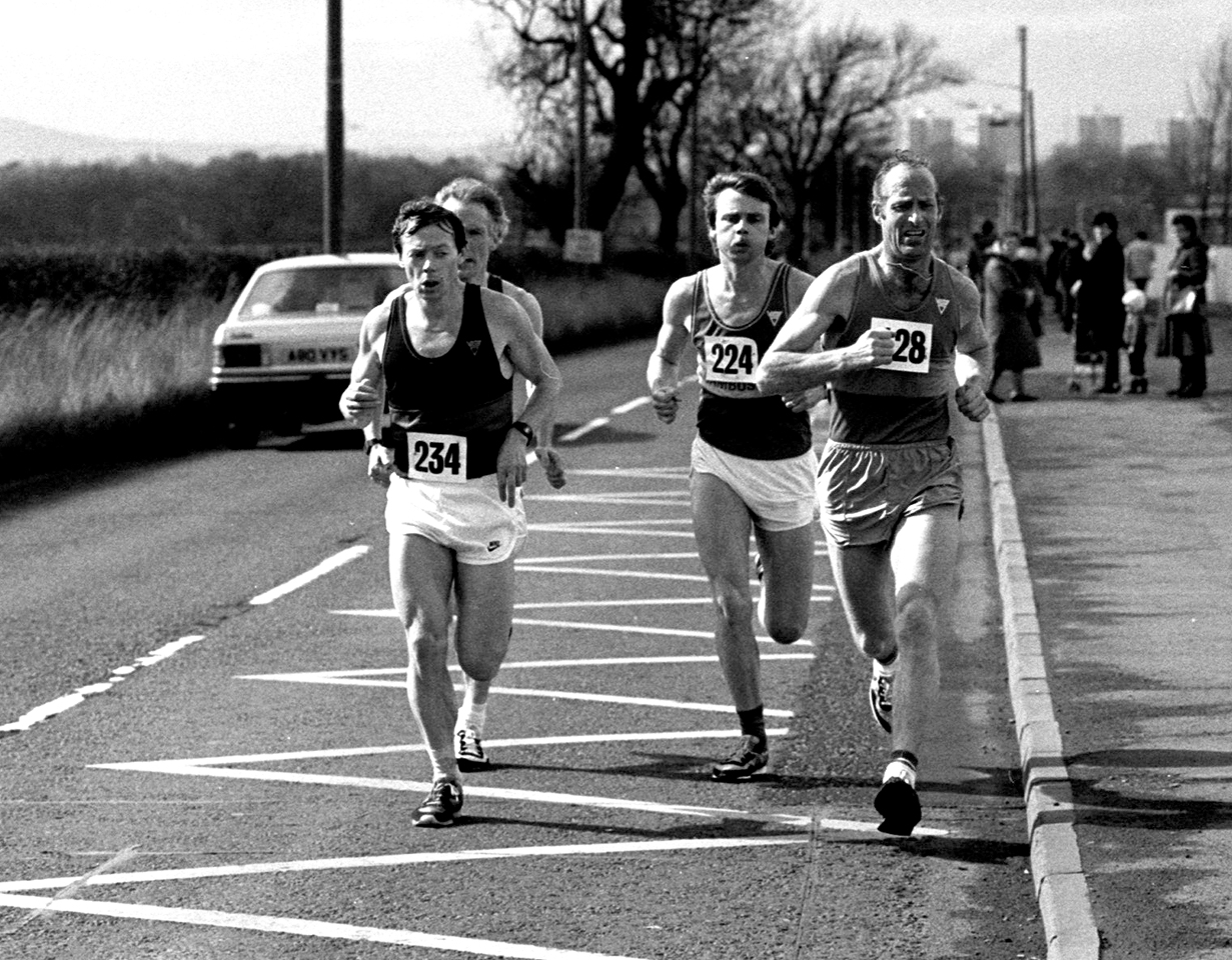 C Martin, T Ulliot, B Carty - Tom Scott, 1985