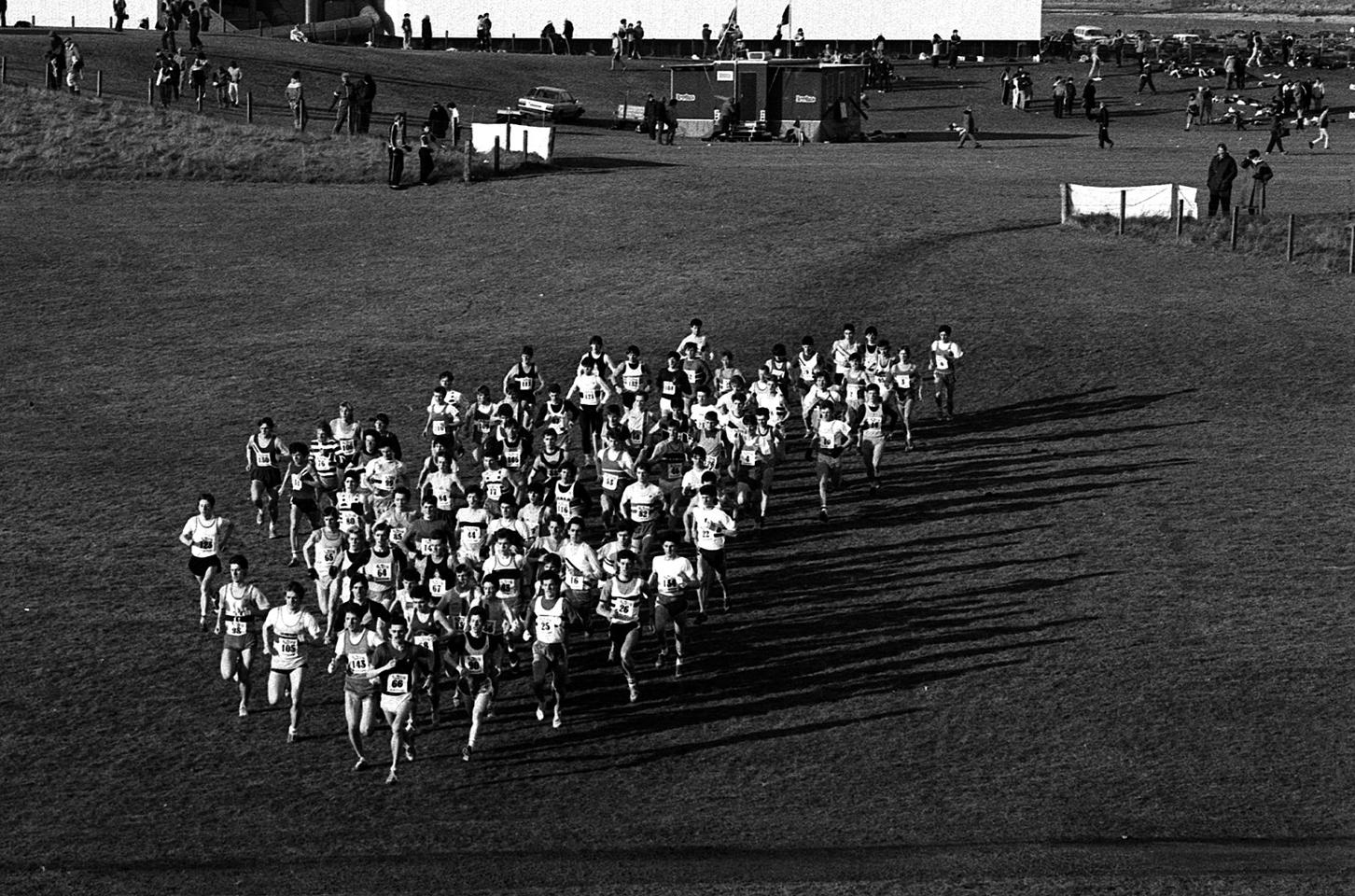 National XC, Junior Men, Irvine, 1986