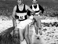 D Bain, S Walker - East Dist XC, 1985. Photo -G MacIndoe