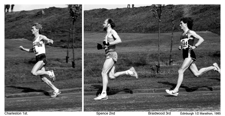 Edinburgh Half Marathon 1985