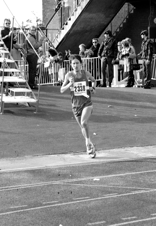 Graham Crawford - Winner Falkirk Half-1985