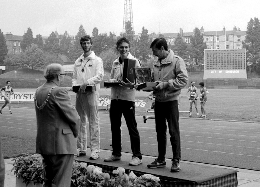 Edinburgh Marathon 1st Three-1984