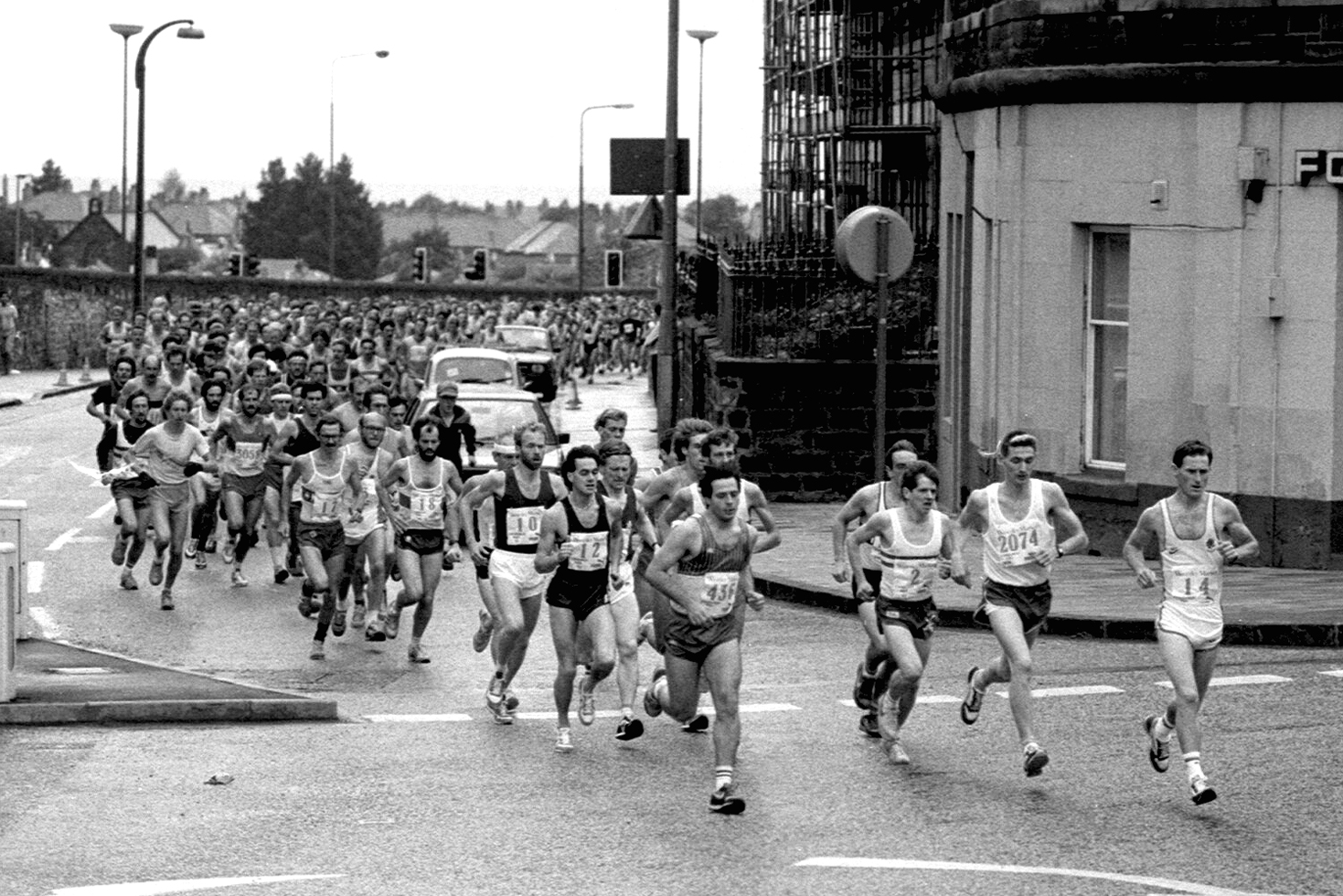 Edinburgh Marathon, Start, 1985