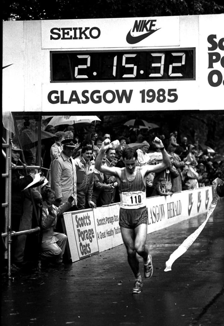 Glagow Marathon 1985 - Dave Lowes
