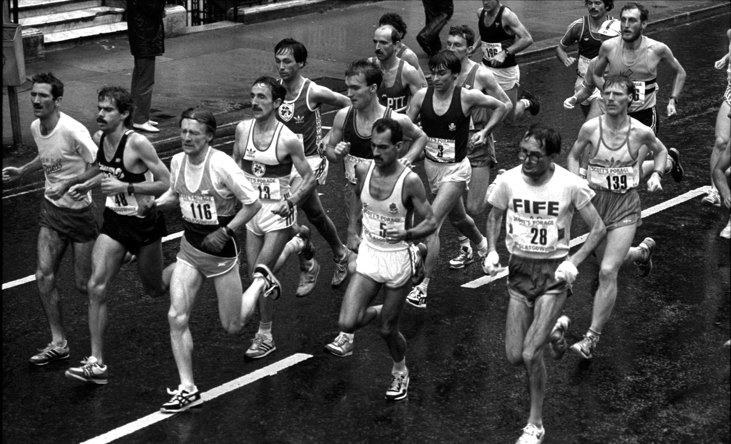 Glasgow Marathon 1985. photo - g macindoe