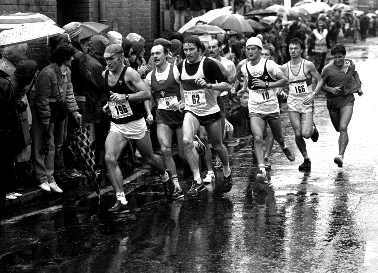 Glasgow marathon 1985 alan adams