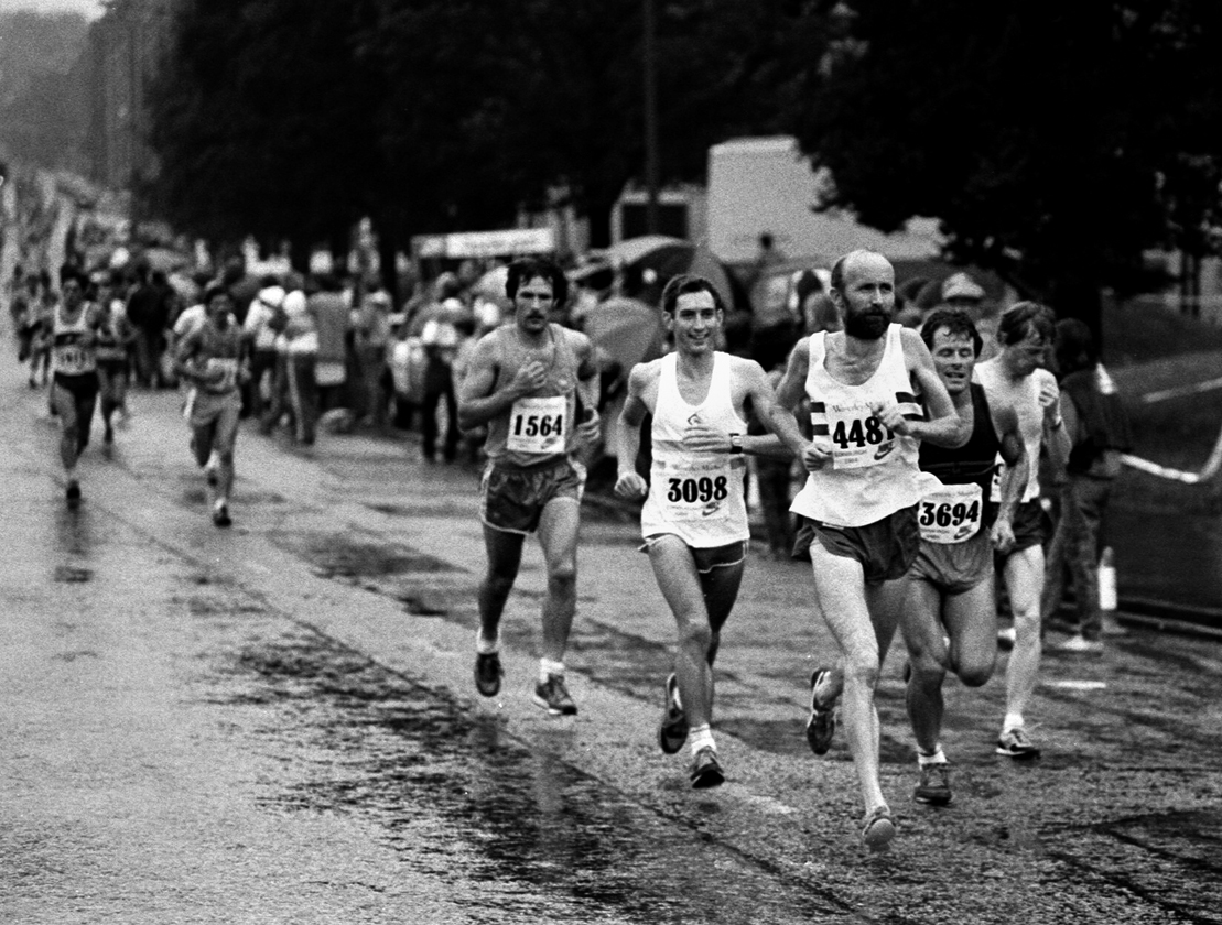 Martin Craven, Edin. Marathon, 1984. Photo - Graham MacIndoe