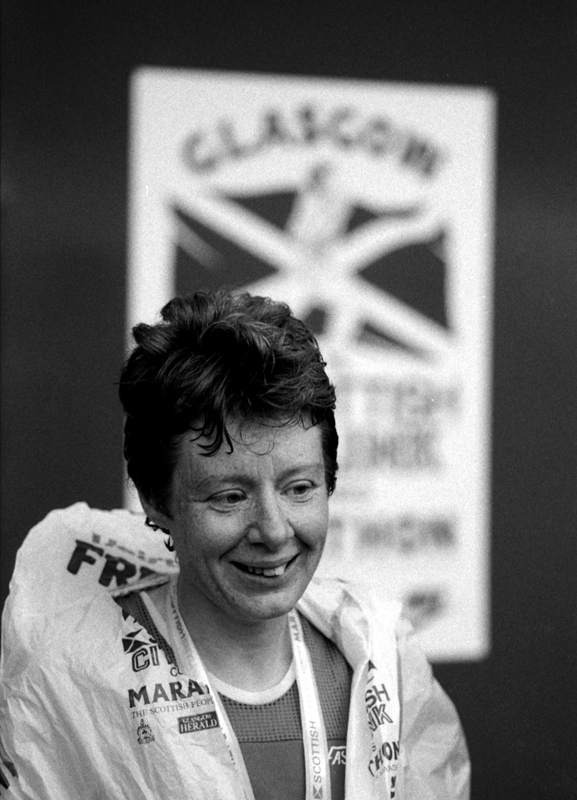 Sandra Braney, Glasgow Marathon 1986