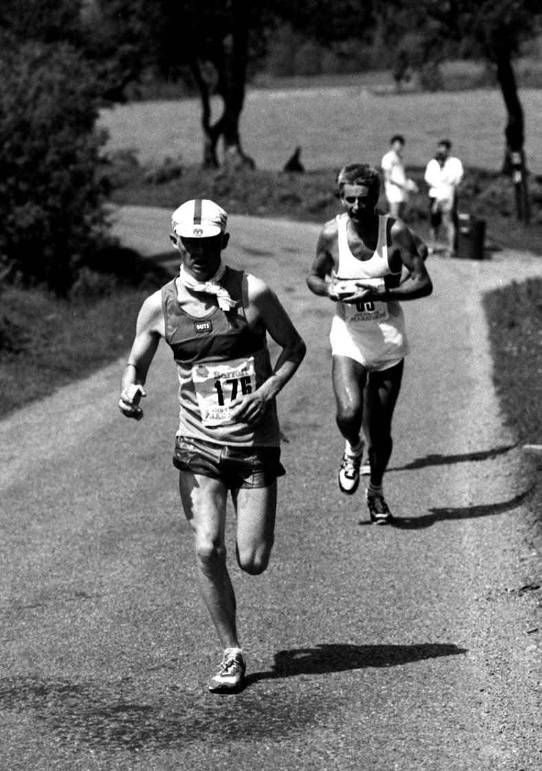 Terry Mitchell, Loch Rannoch Marathon, 1985