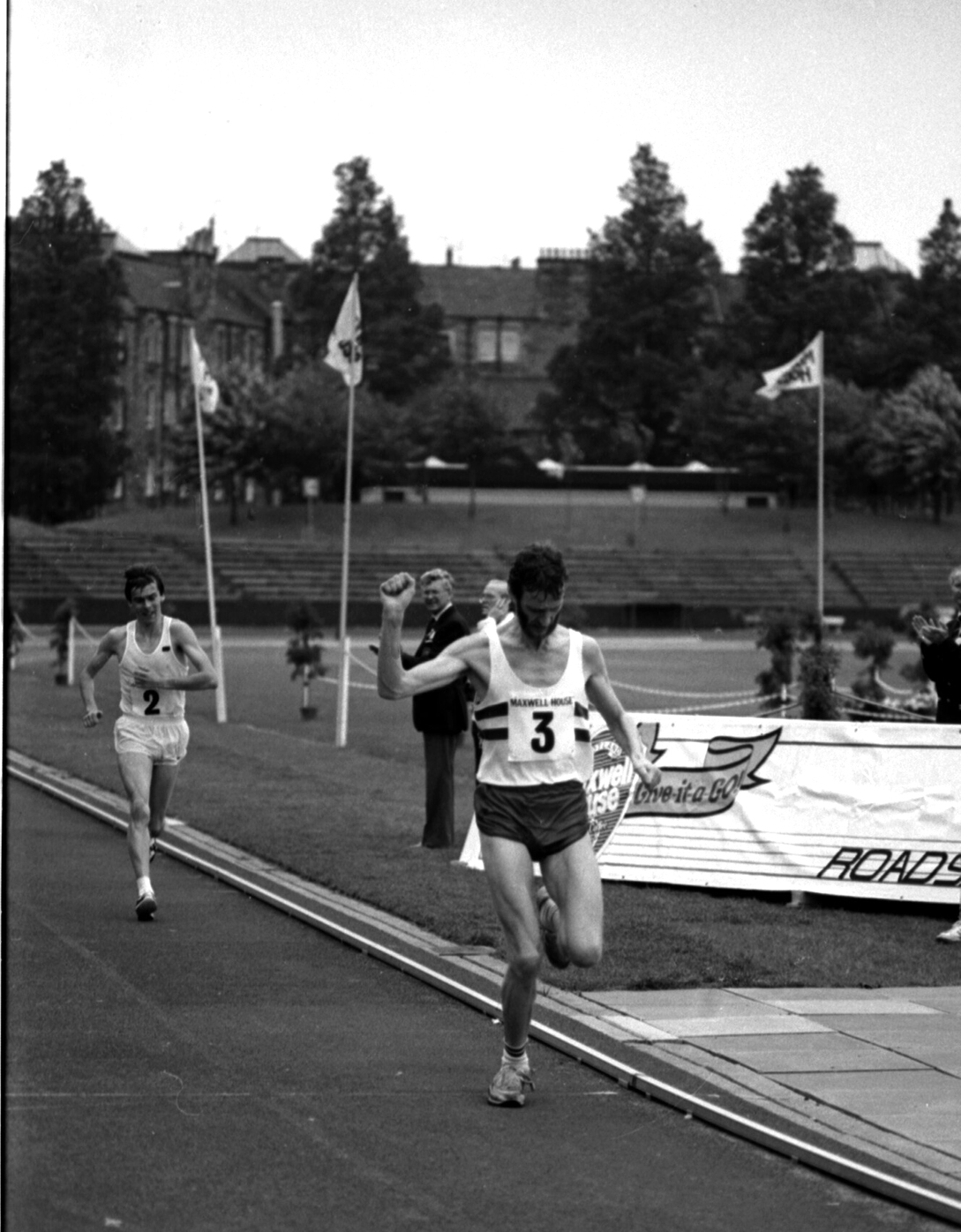scottish AAA Marathon 1985 winner Evan Cameron
