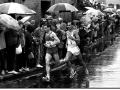 Glasgow marathon 1985 Dave Lowes (1st) & Ossie Arif