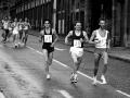 M Carroll, M McNaught, E Cameron, Edin Marathon, 1985. Ph-G MacIndoe