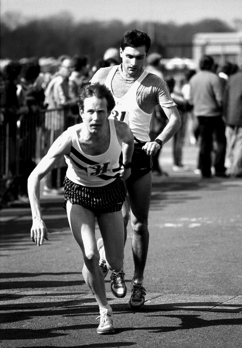 6 stage relay 1983 Nigel Jones to Brian Kirkwood