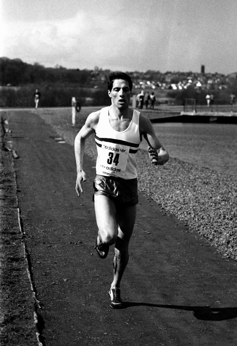 J Wheeler (ESH) fastest 5th leg, 6 stage relays, 1986