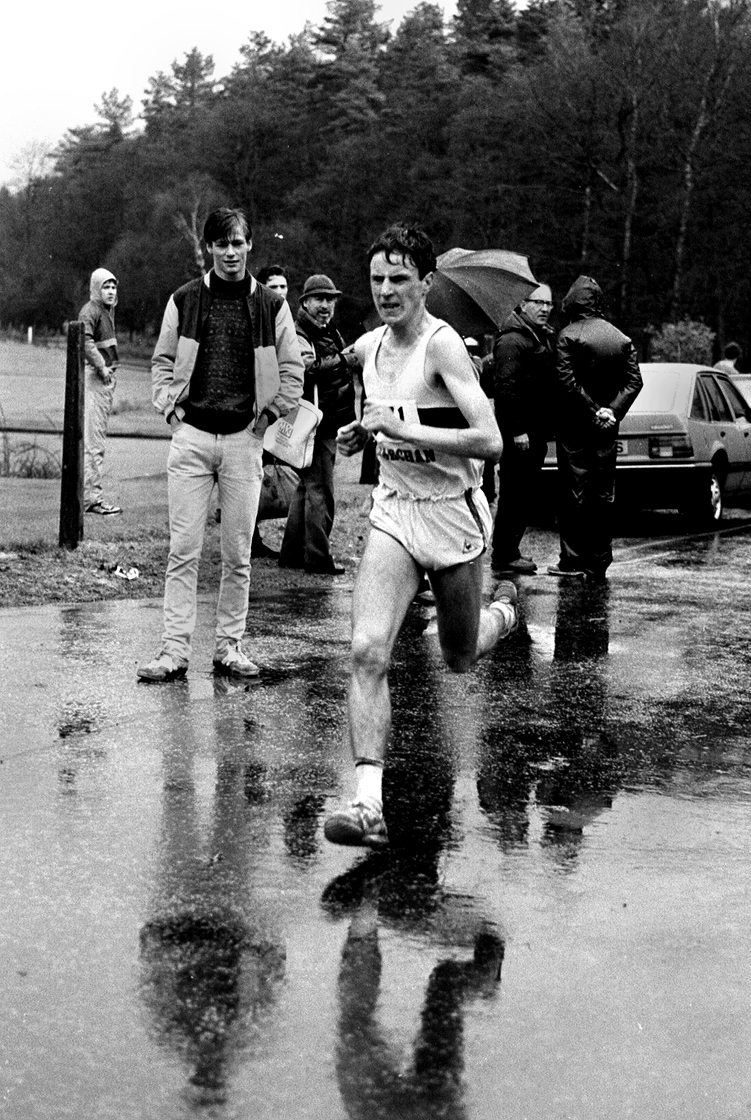 Robert Quinn - fastest short leg, 6 stage relays, 1985