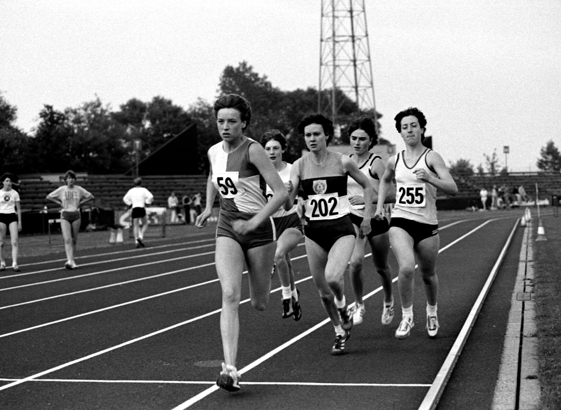 Liz Lynch, Meadowbank Open 1500m, July 1983