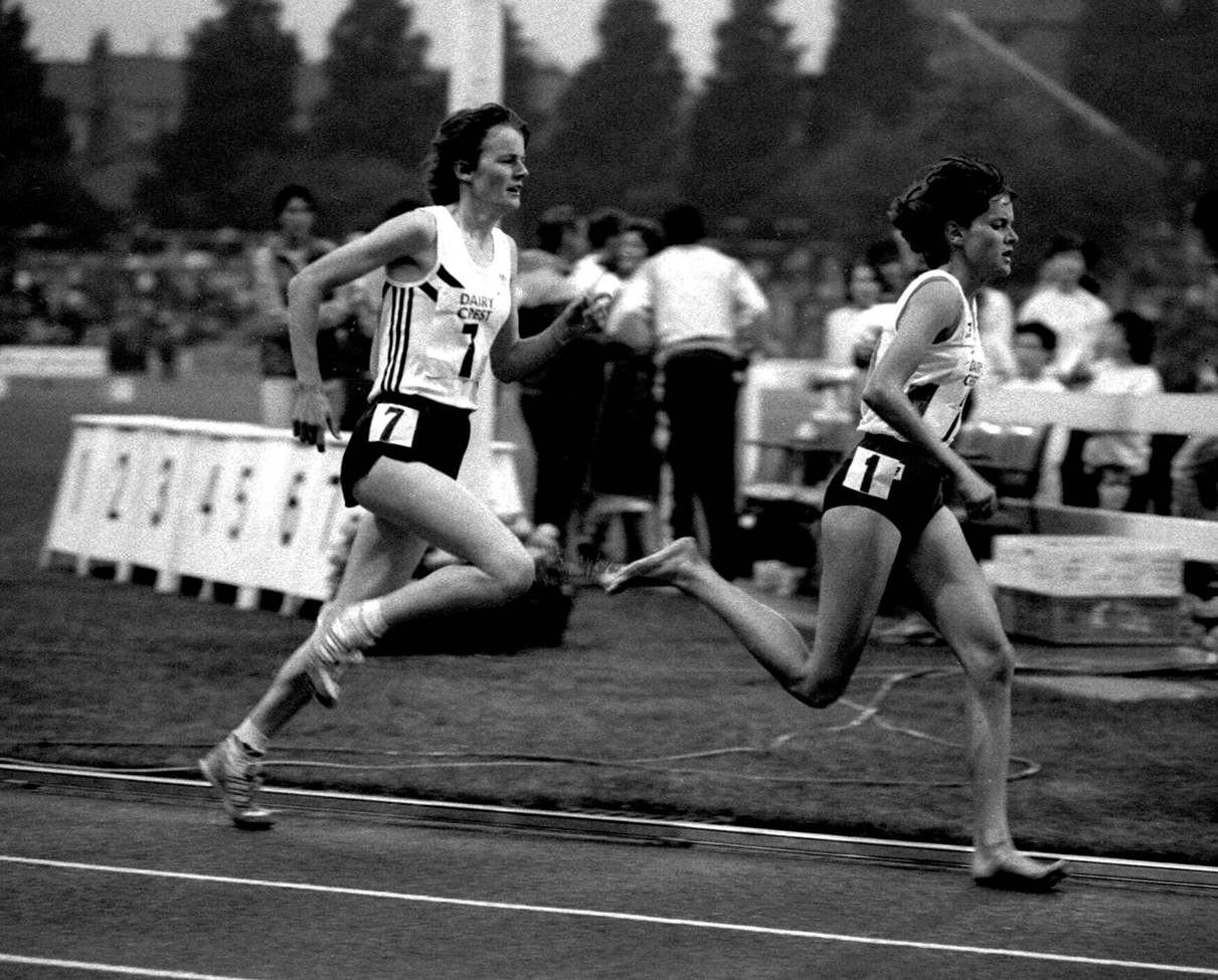 Yvonne Murray & Zola Bud, 1 Mile, Meadowbank, 1985