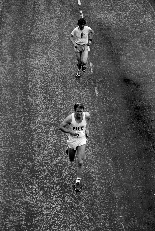 Dave Francis & Colin Youngson E to G 1984. photo - g macindoe