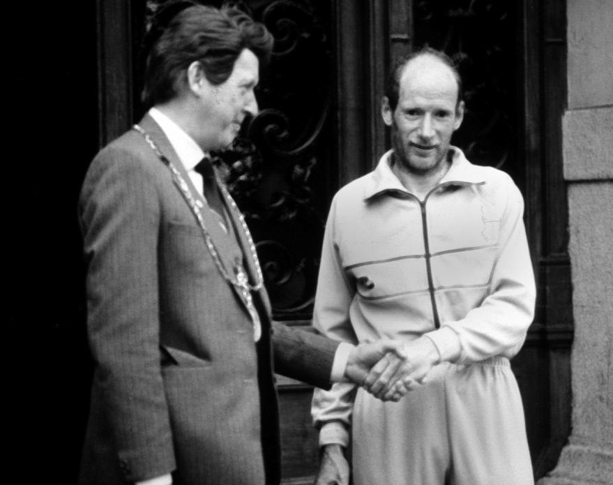 Don Ritchie winner Edinburgh to Glasgow point to point 1984