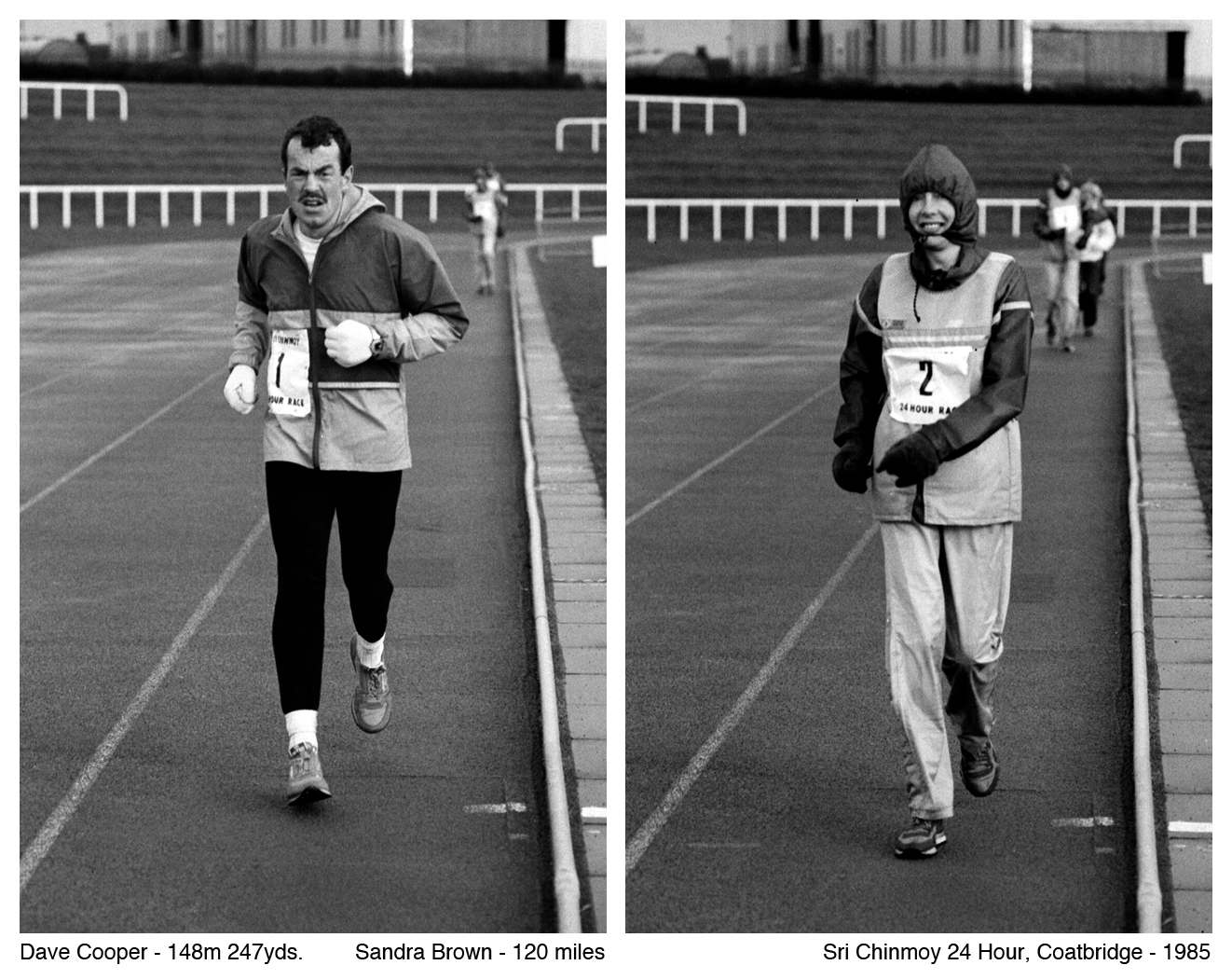 Sri Chinmoy 24 hour Race, 1985. Photo G MacIndoe