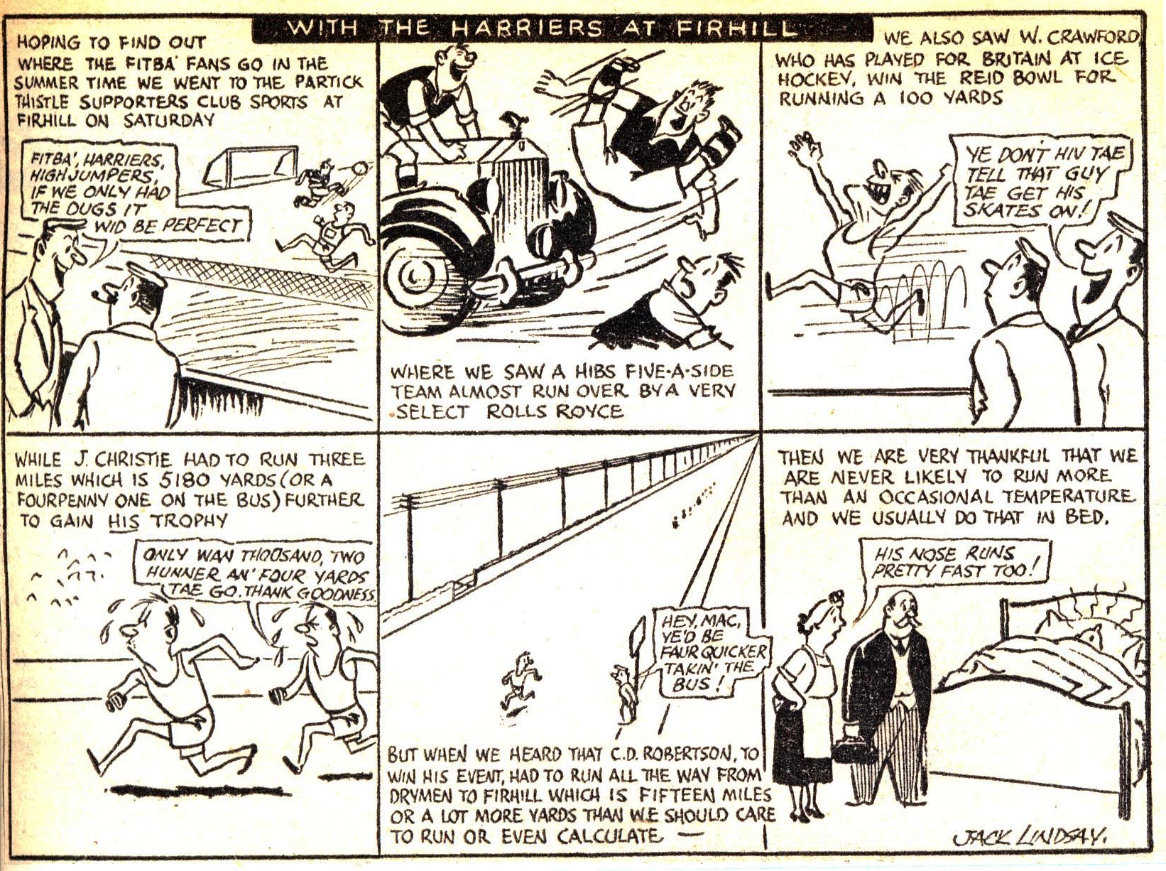 Cartoon, 1950's: C Robertson