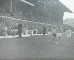 The half time mile, Scotland v England 1962
