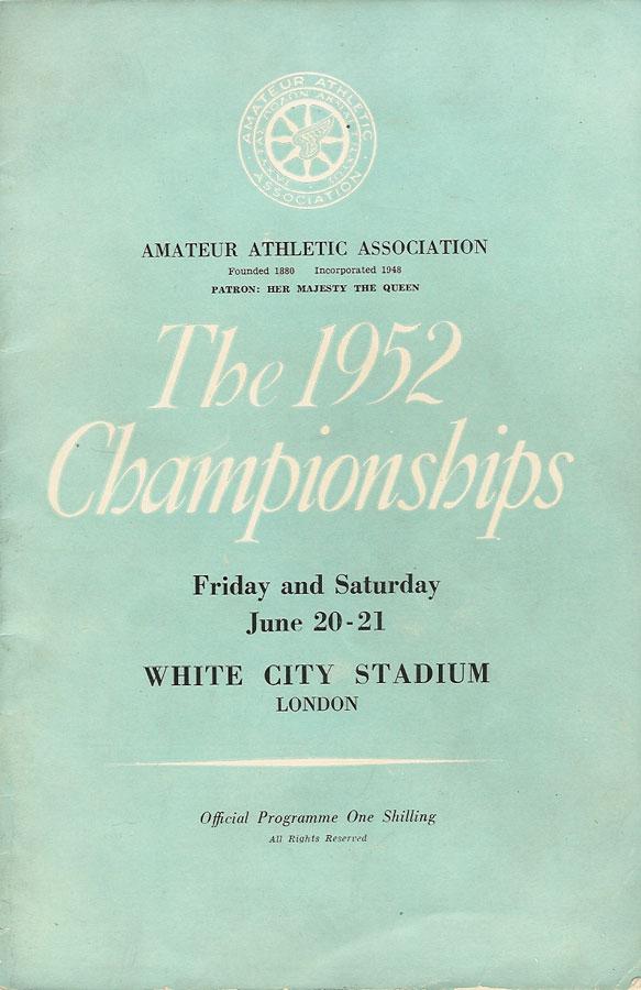 AAA's 1952