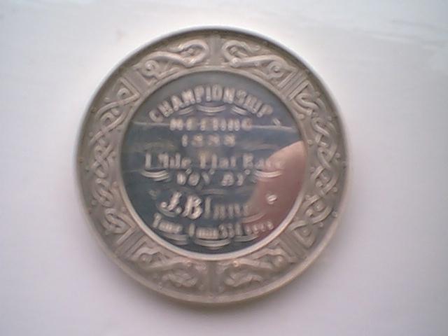 SAAA Medal -reverse