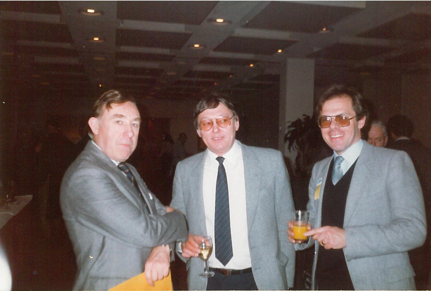 John Rodda, Ken Mays, Cliff Temple