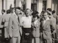Kenny with Judy Wolf and two other English representatives