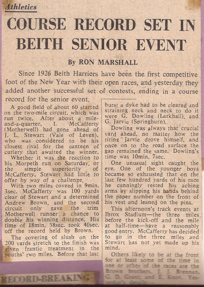 Lachie C 1967 - Beith