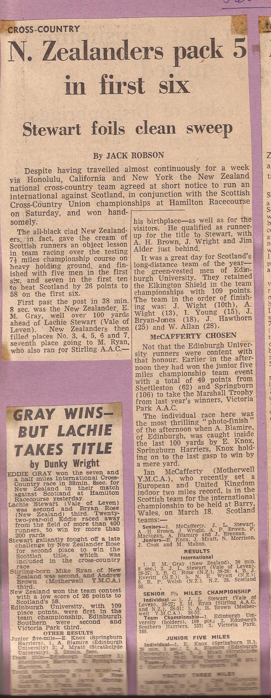 Lachie C 1967 - National