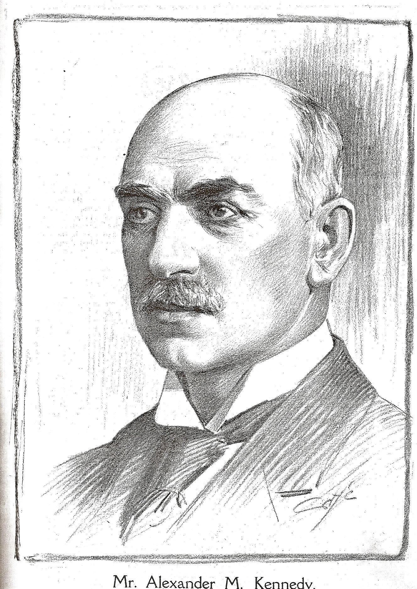 Alexander McA Kennedy
