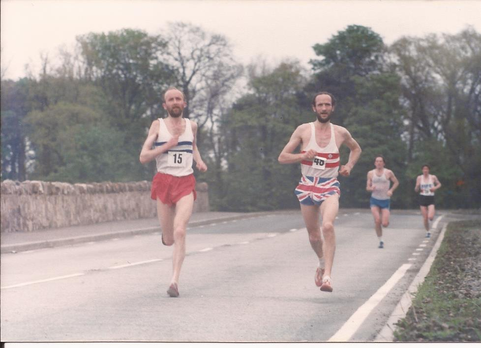 Martin Craven (ESH) and Graham Laing (AAAC)