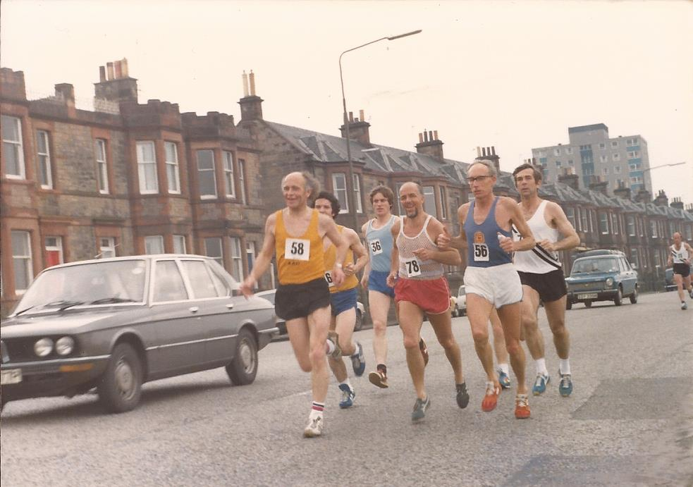A group including Gordon Porteous and Chick Third