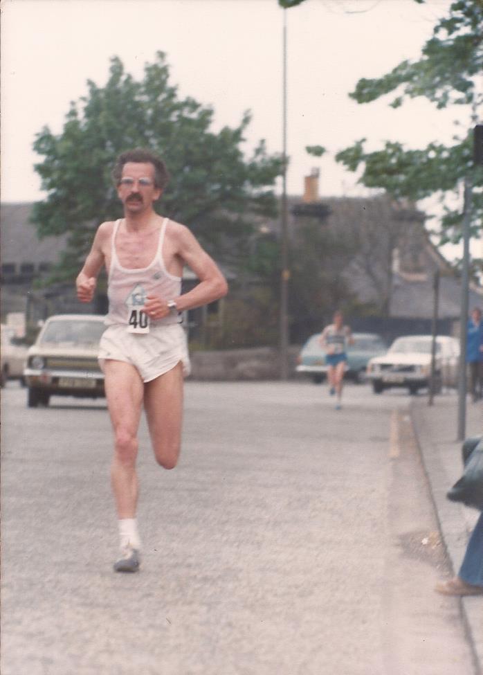 Alastair Macfarlane heading for victory
