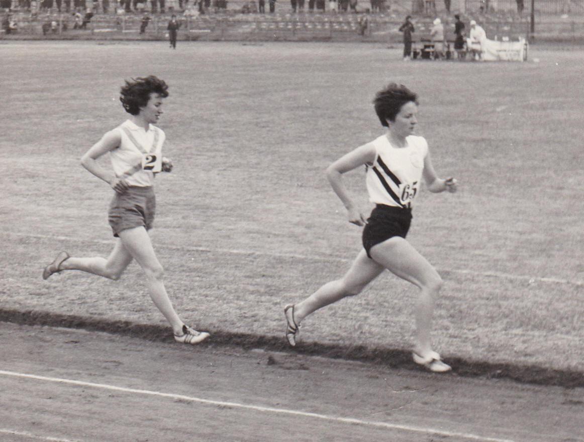 Helen  Cherry and Barbara Tait